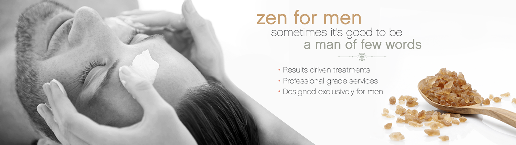 Zen for Men Results Driven Treatments - La Bella Spa